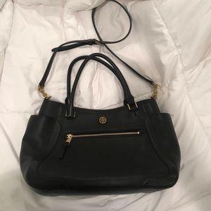 Tory Burch Frances Leather Satchel Bag